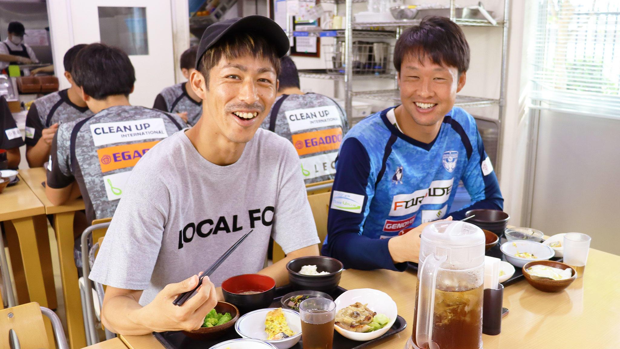 「体調管理の秘訣は、バランスのよいメニューを食べ続けること」佐藤 謙介 選手