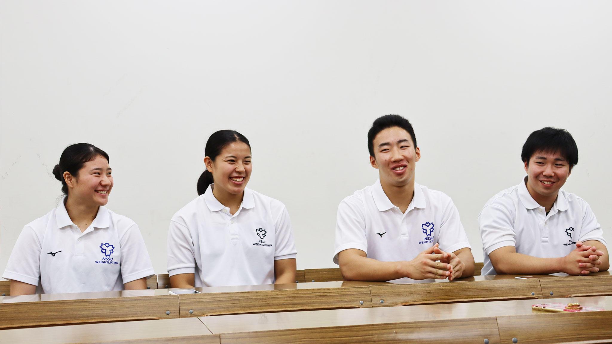 学生インタビュー「食生活と身体づくり」