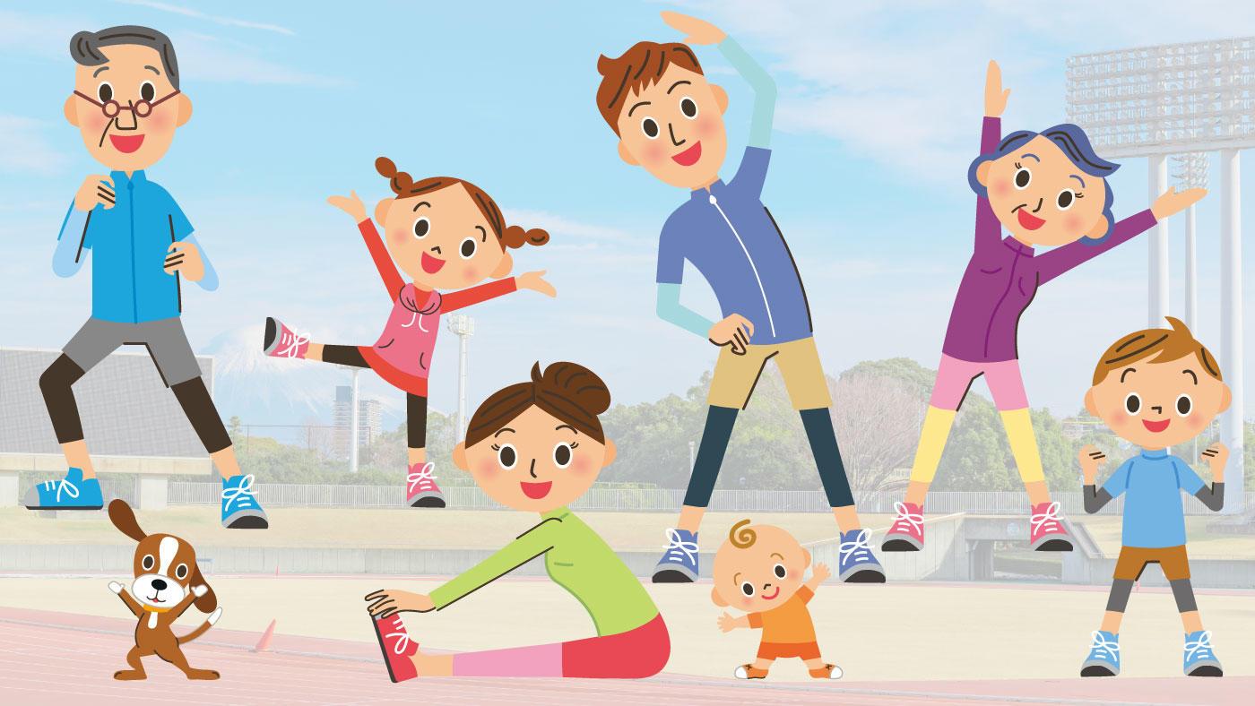 「自宅や屋外で安全に運動するための注意事項」スポーツ庁が新型コロナ対策を公開