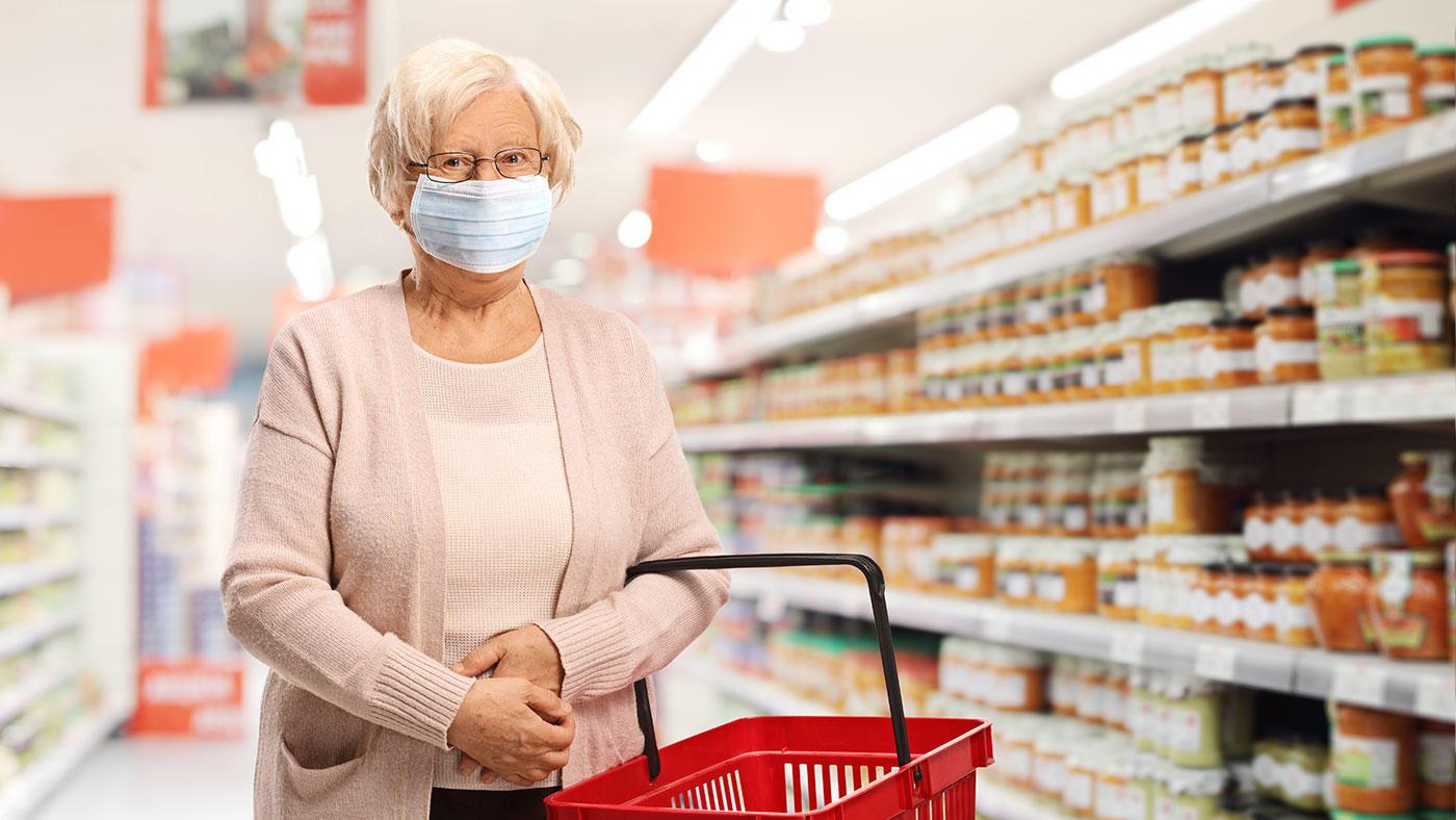 新型コロナで外出自粛中の高齢者向け食品購入・活用アドバイスシート 英国栄養士会