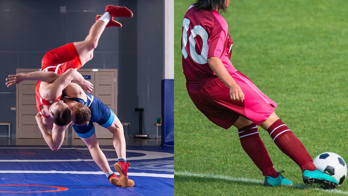 レスリング選手とサッカー選手、血清脂質からみた健康レベルはサッカー選手に軍配