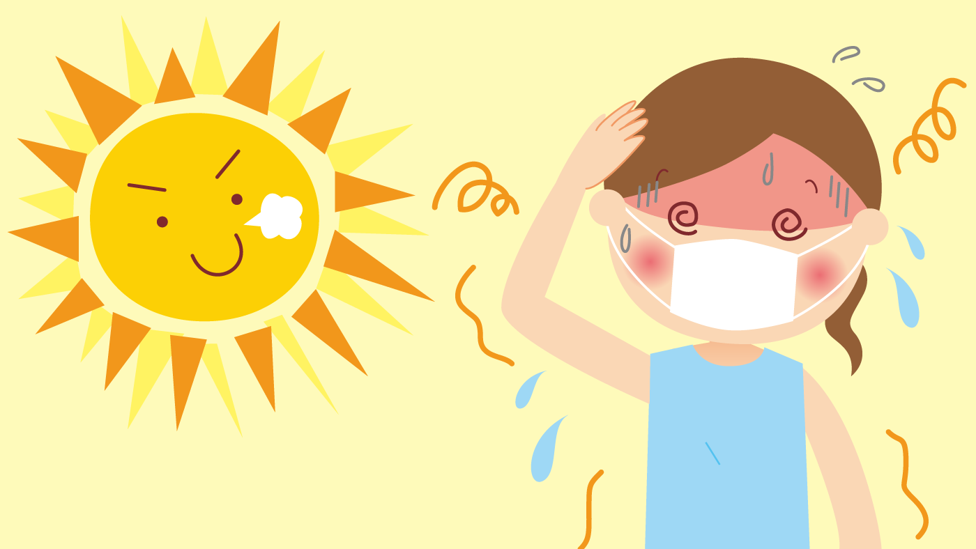 【医療従事者向け】新型コロナウイルス流行下における熱中症対応の手引き 感染症学会など4学会