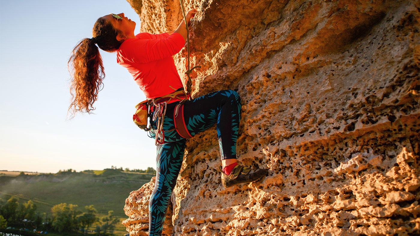 競技人口が急拡大 クライマーの食事摂取量や身体組成の調査結果報告