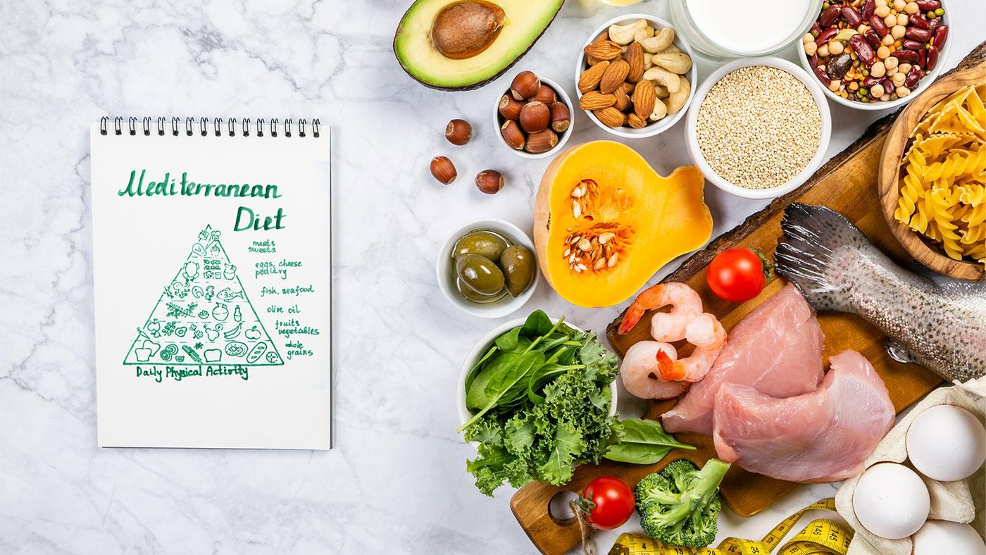地中海式の食事でアスリートの蛋白質量を満たせるか? それともサプリが必要か?
