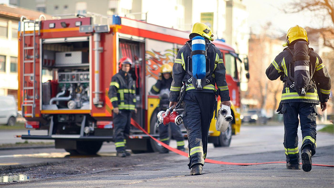 消防士の大半が栄養不足の可能性 軍隊の摂取基準と比較し大幅に少ない