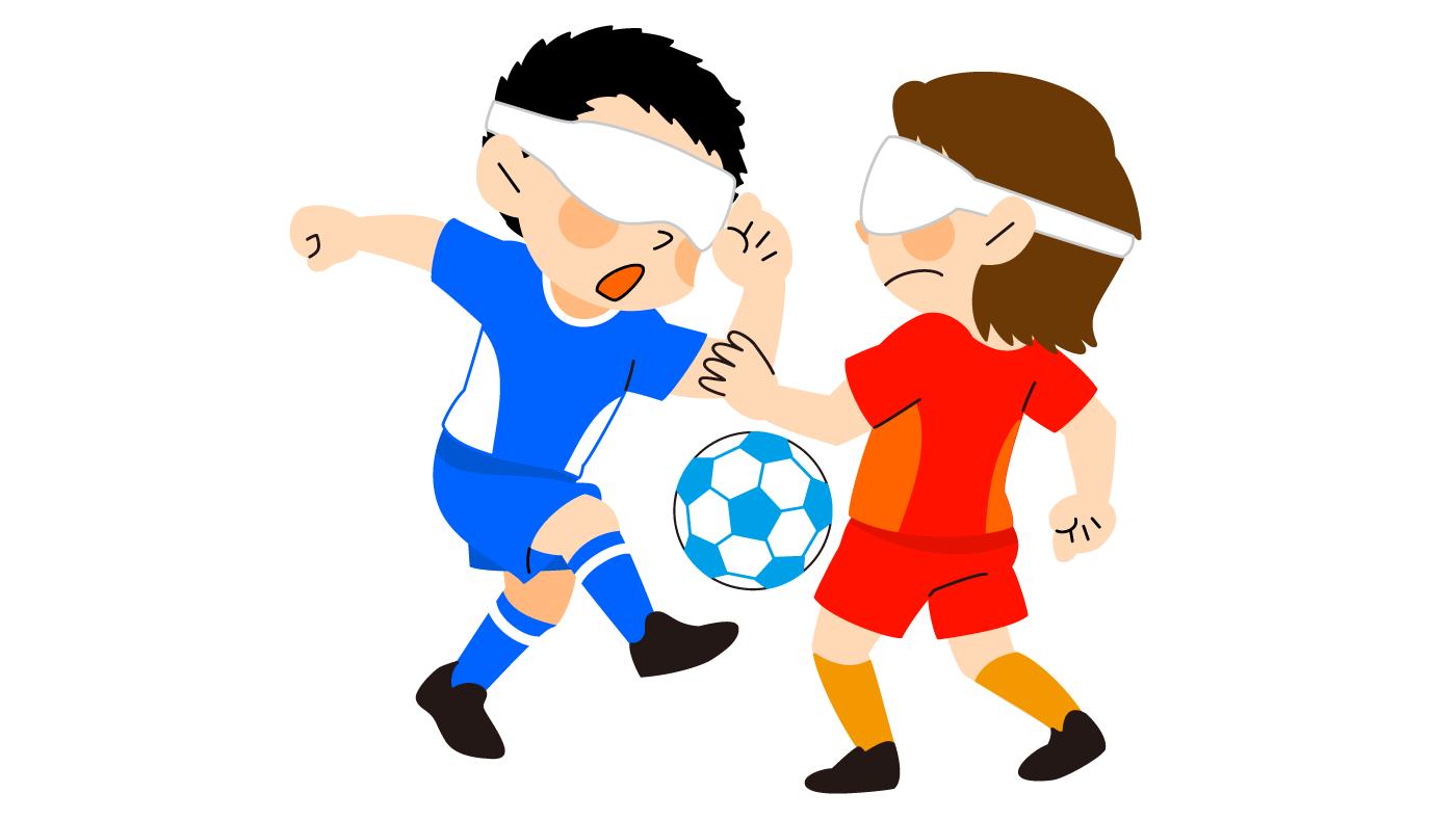 ブラインドサッカー選手のボールトラップの極意は頭の動き「音を判断するメソッド」