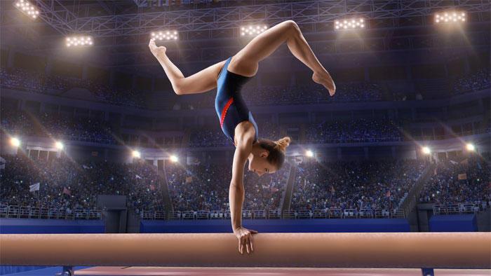 トレーニング前の高炭水化物食が支える、思春期前の女子体操選手の骨の健康と成長