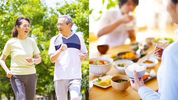 健康的な食習慣と運動習慣で幸せになれる! 健診受診者の2年追跡を含む横断調査