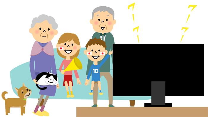 テレビでのスポーツ観戦でもうつが解消される! 国内高齢者対象の研究