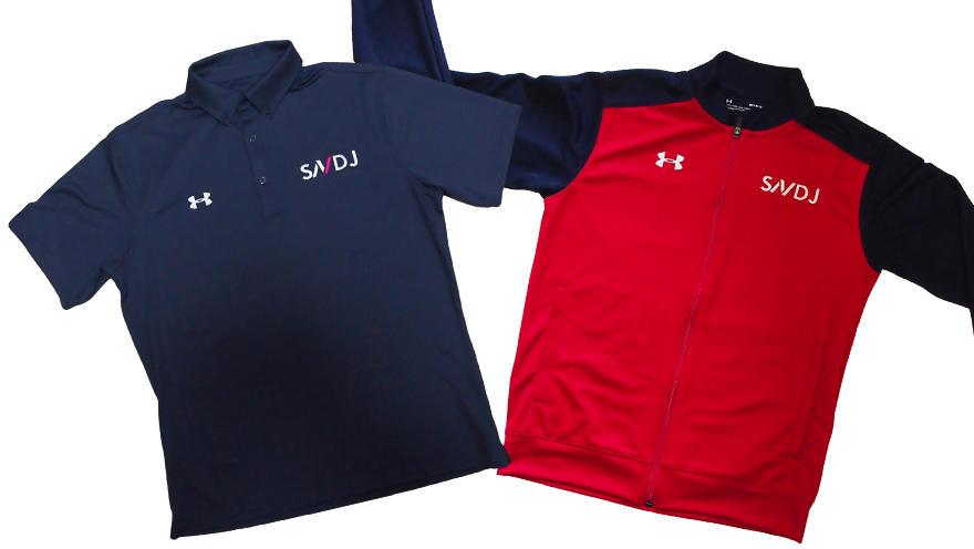 「SNDJユニフォーム」販売中! スポーツ栄養サポートや遠征時、Webセミナー等でご活用ください!